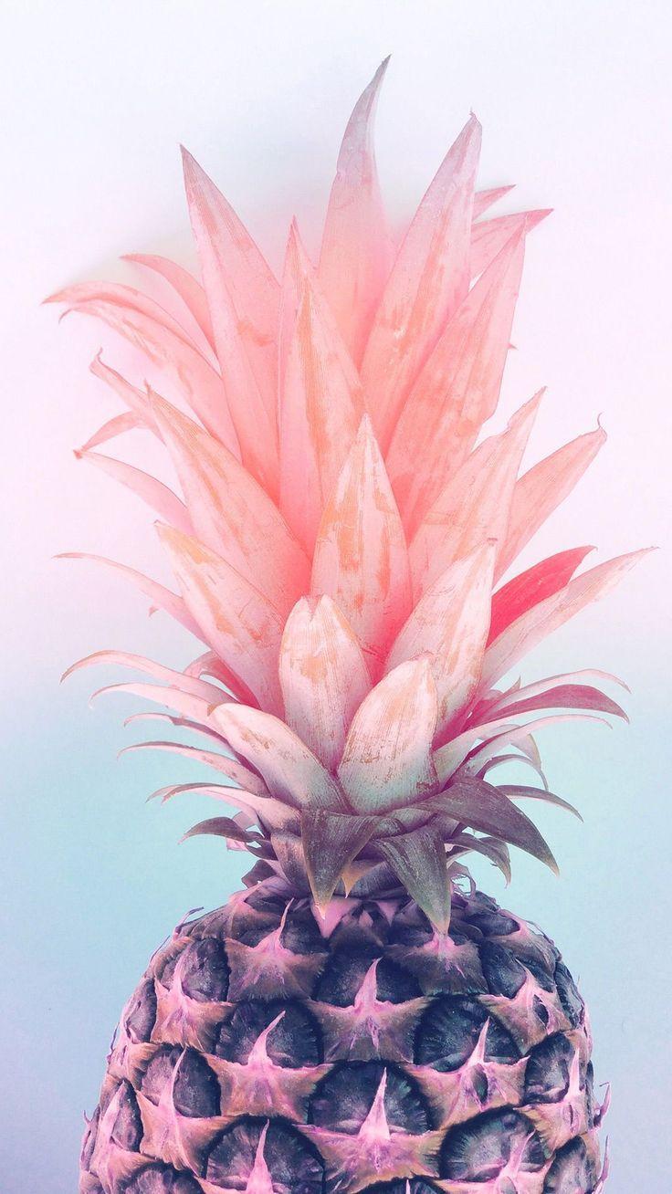 "Photo of ""Pastel Pineapple"" Design von Emanuela Carratoni ist ein perfektes Wallpaper fü…"