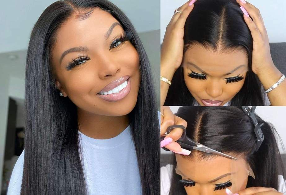 The Easy Beginner Friendly Method On How To Install A Lace Front Wig Without Glue Or Sew In Perfectly Lace Front Wigs Wigs Cute Braided Hairstyles