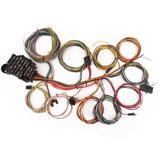 Speedway Universal 22 Circuit Wiring Harness With Images