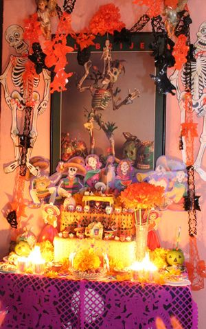 Picture of a Day of the Dead Shrine