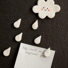 Foto fai da te :: Candela, casetta o fungo? L'idea per un regalo!