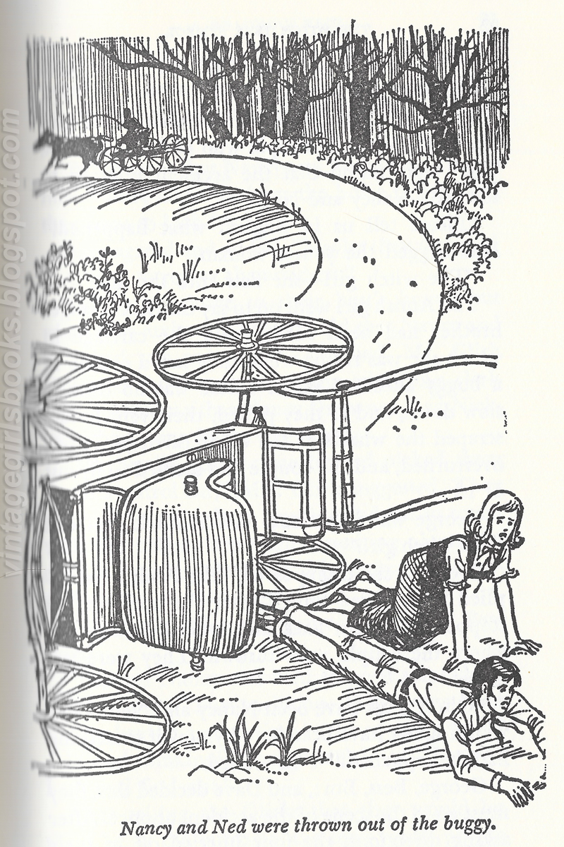 Nancy Drew The Witch Tree Symbol Illustration Carolyn Keene