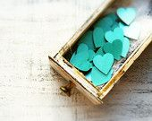 15 colors wedding favors wooden hearts guest favors bridal shower baby shower party mint green turquoise pearl