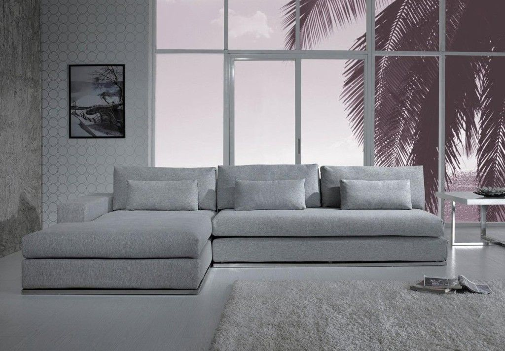 Fresco of Gray Sectional Sofa with Chaise: Luxurious Furniture ...