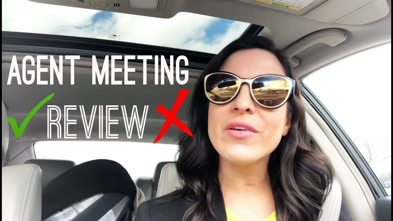 I had a meeting with a potential new agent here's what I