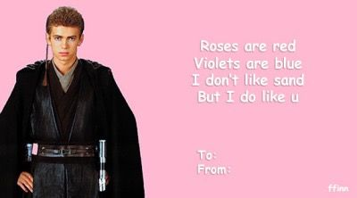 Pin By Mikayla O Leigh On Together 3 Star Wars Cards Star Wars Puns Valentines Memes