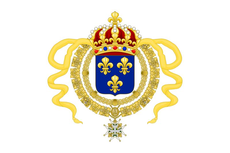 FileRoyal Standard of King Louis XIV.svg