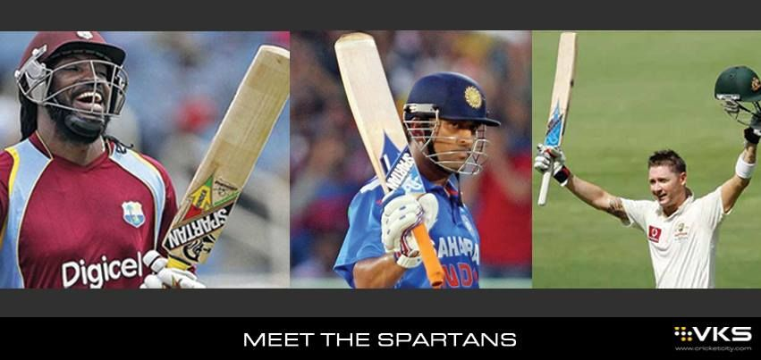 Who Among These Is Your Favorite Batsman With The Spartan Cricket Bat Cricket Bat Cricket News Cricket