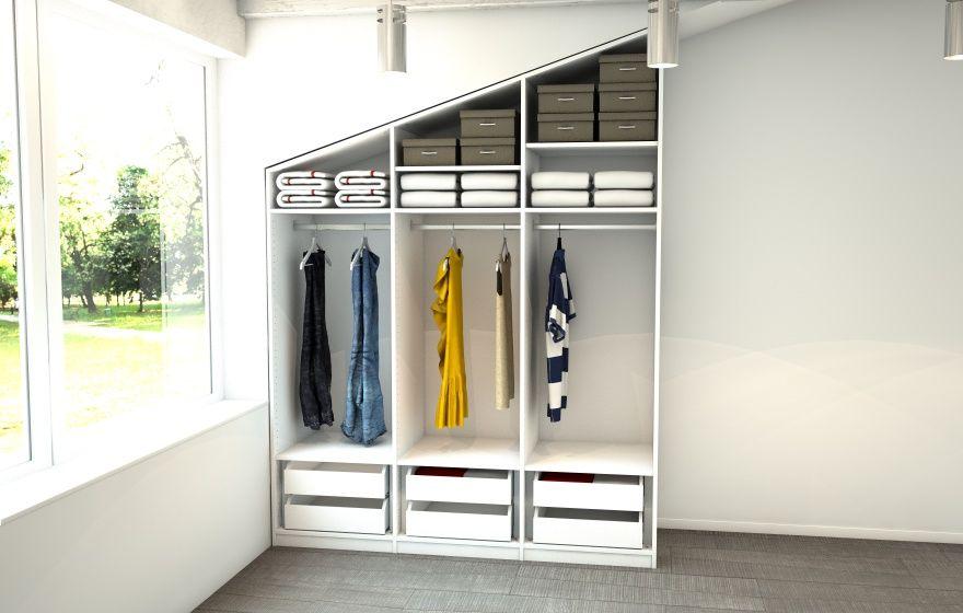Ikea Patrull Fast Erfahrungen Kleiderschrank Fur Schrage