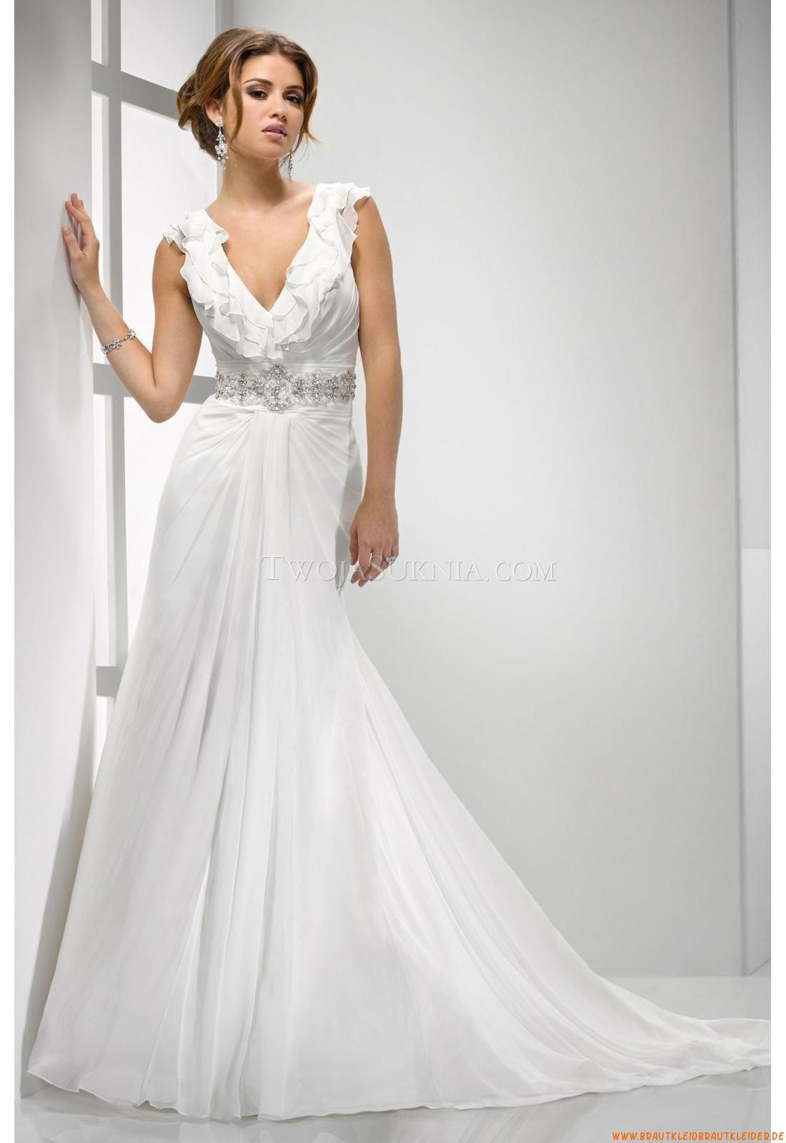 Knöchellang Designer Brautkleider | brautkleider übergröße ...