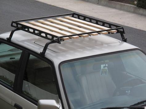 Wood Roof Rack Diy Google Search Car Roof Racks Roof Basket Roof Rack