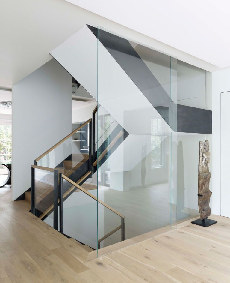 Best Pin By Ed Roberts On Doors Windows White Staircase Wood Staircase Modern Stairs 400 x 300