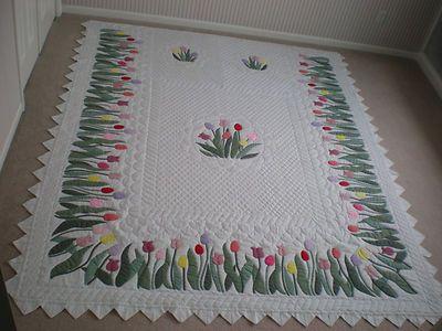 Original Dutch Tulip Flower Patch