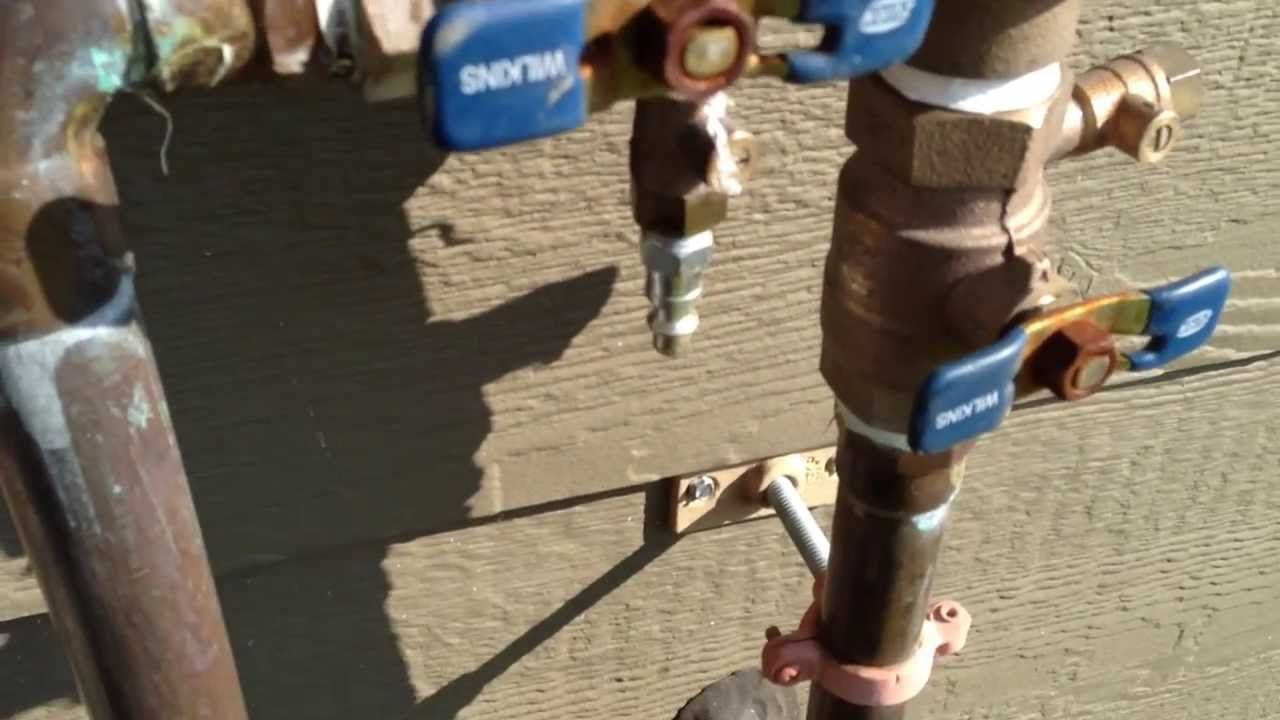 How to blow out your sprinkler system Winterizing sprinkler irrigation