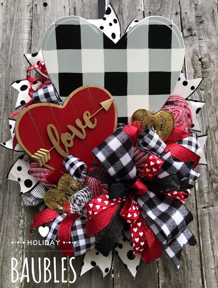 Excited to share this item from my shop Valentines Wreath Rustic Valenti Excited to share this item from my shop Valentines Wreath Rustic Valenti
