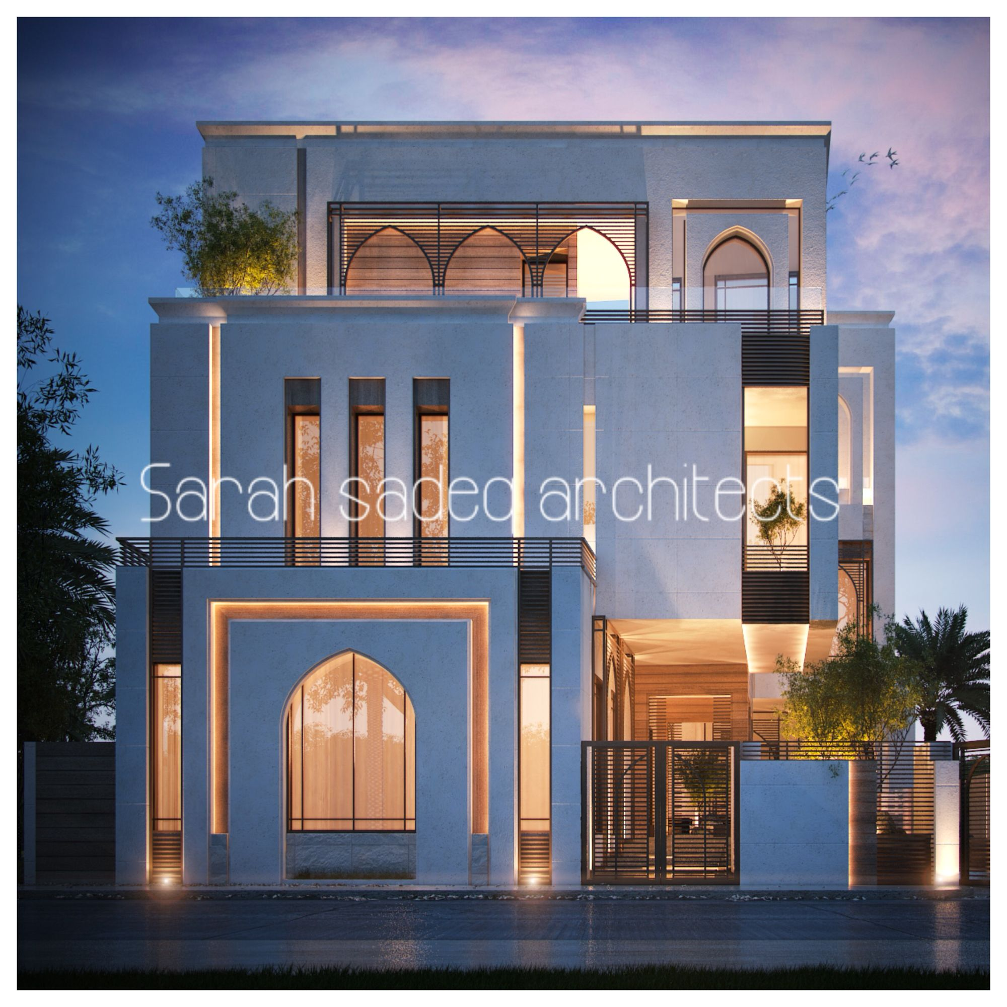Pin By Mohamed O On Modern Villas: 500 M , Private Villa , Kuwait Sarah Sadeq Architects