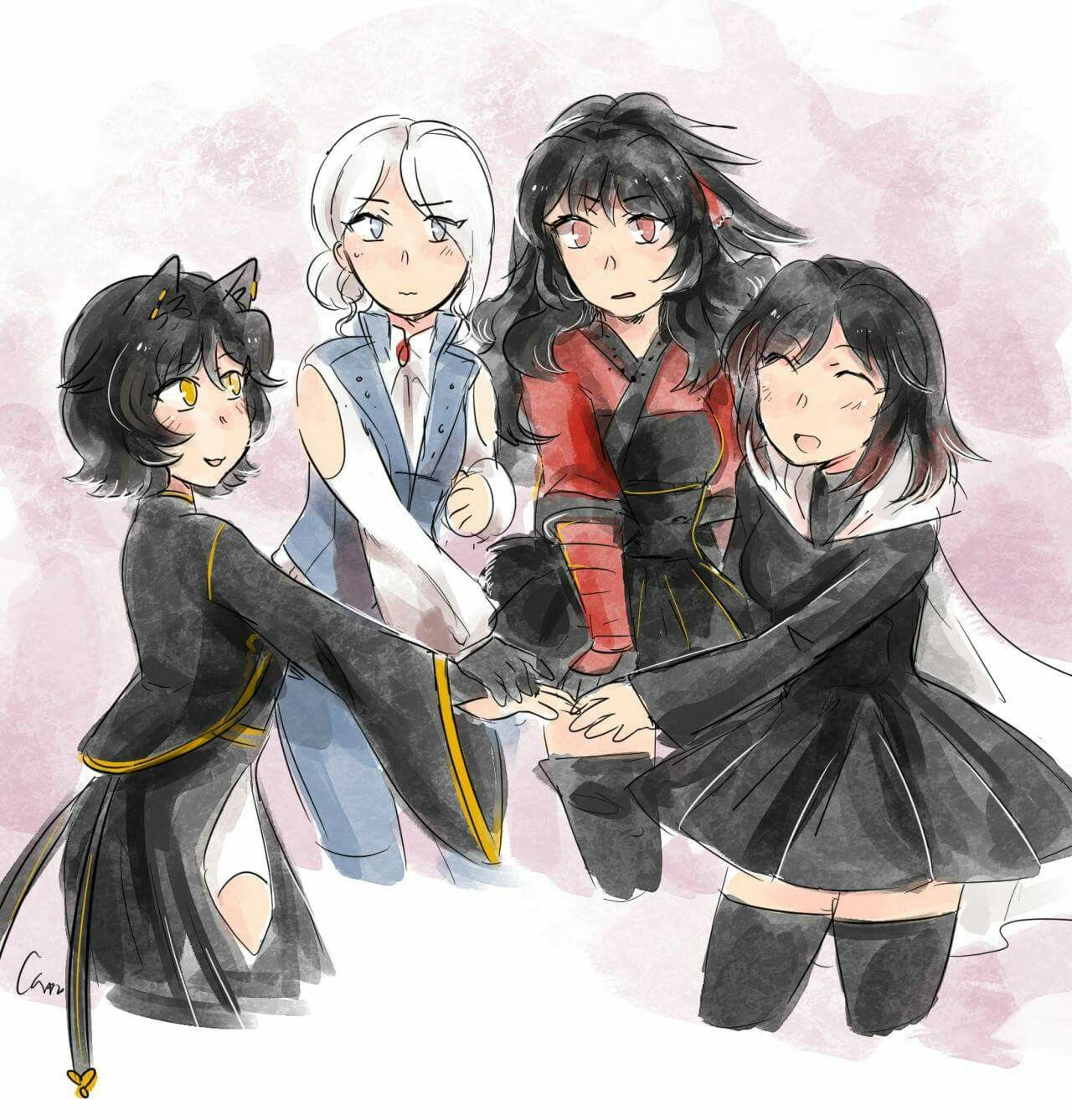 This would be so accurate if WINTER WAS ACTUALLY WEISS
