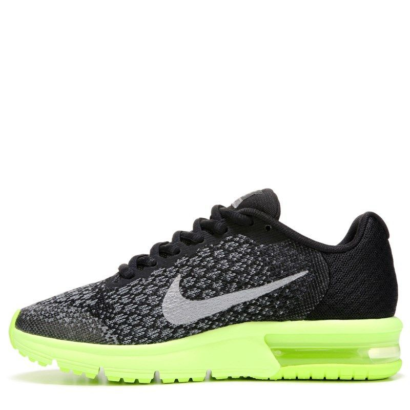 Nike Kids' Air Max Sequent 2 Running Shoe Grade School Shoes