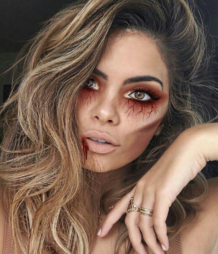 Pin de Maite Limaico en Halloween Maquillaje zombie