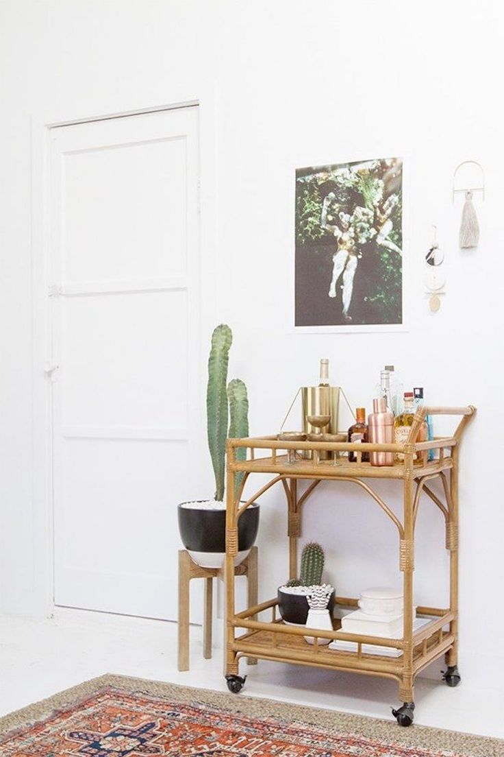 13 Rooms That Flawlessly Work The Rattan Trend Decor Home Decor
