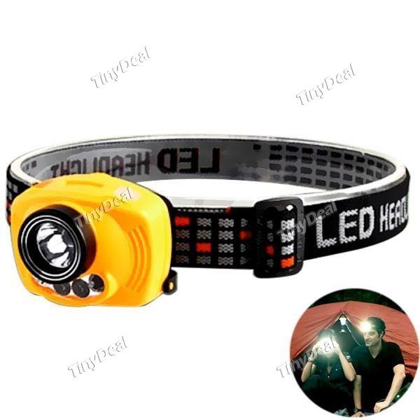 Sensing Headlight 35Meter Distance Head Torch Lamp Cap Hat Light For Reading Fishing Camping HLT-511978