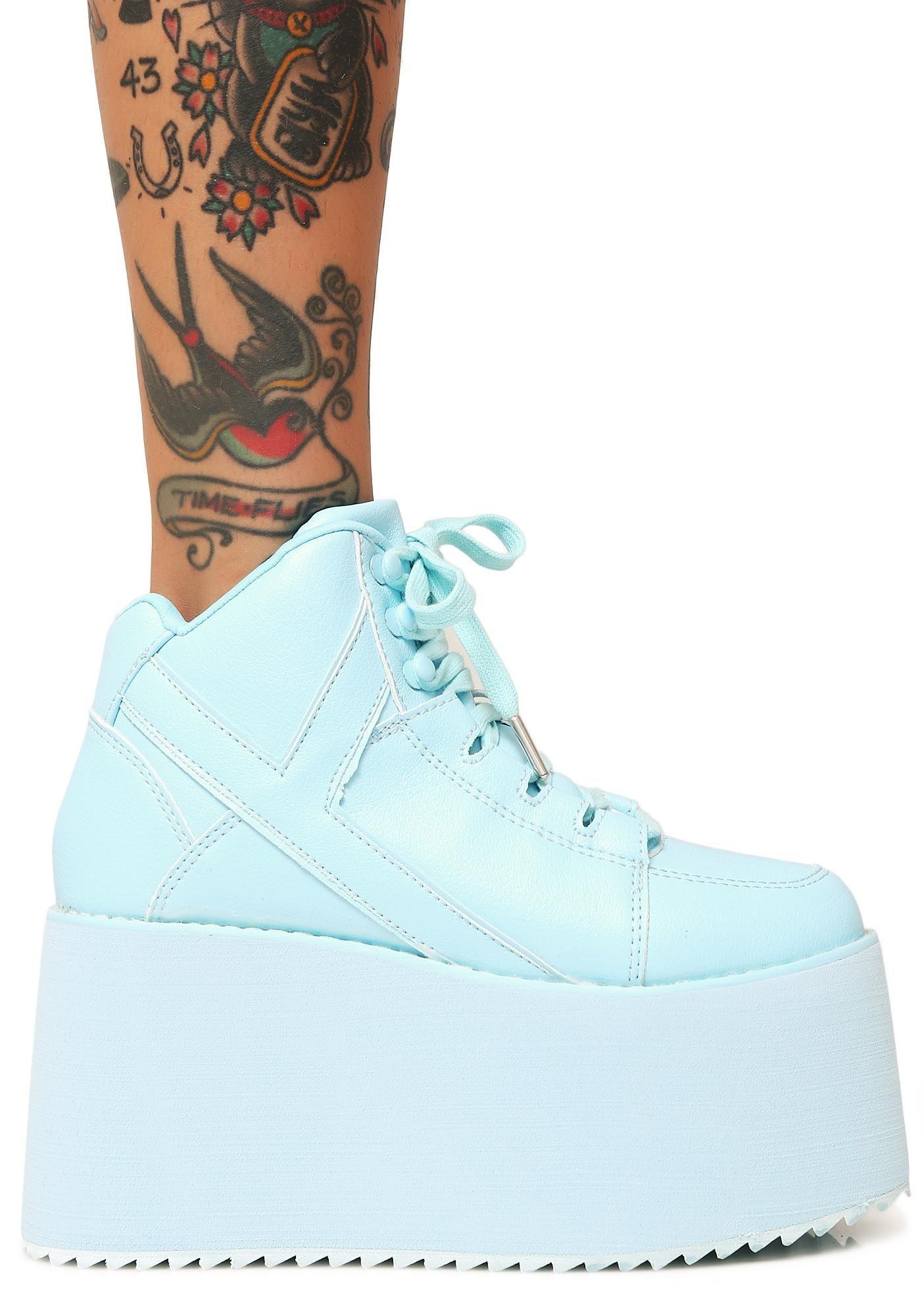 f389319635 Arctic Qozmo 2 Platform Sneakers | saga rose | Sneakers, Shoes ...