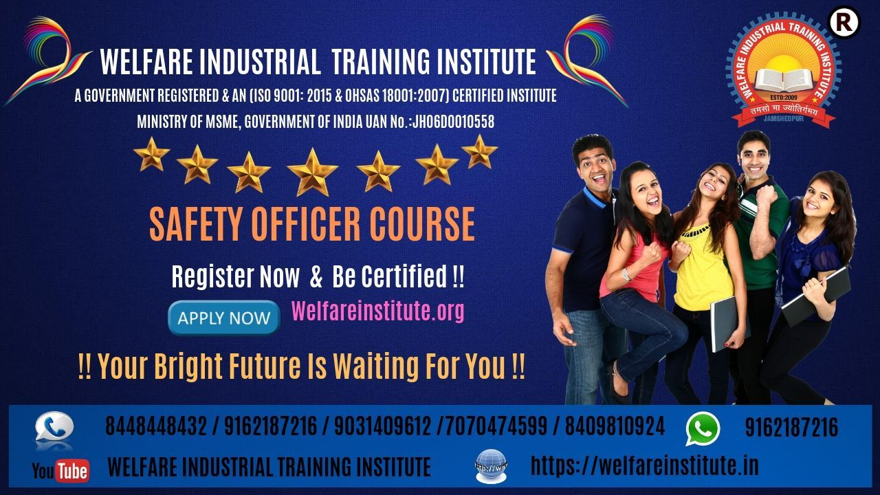 Safety Officer course in India with excellent course