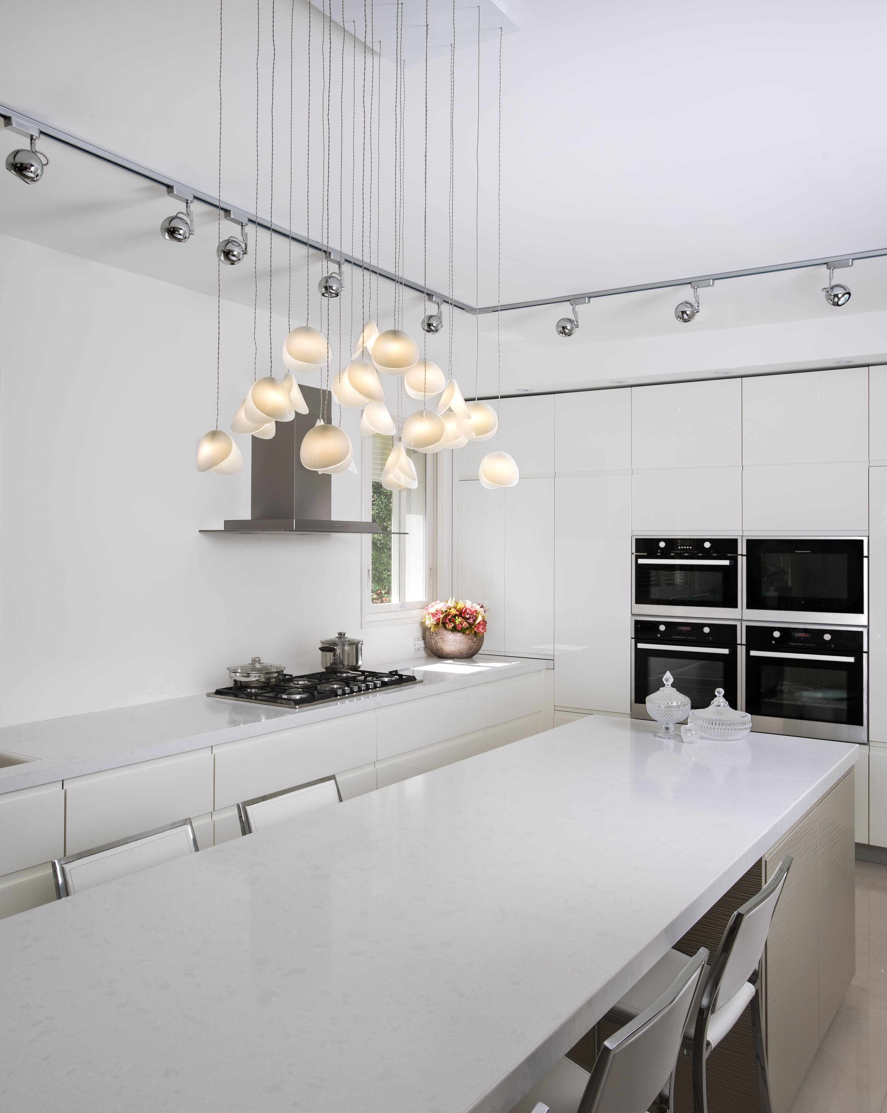Modern kitchen interior design inspiration pendant lighting over