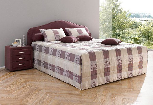 Photo of Buy Maintal upholstered bed, high-quality micro velor cover with stain protection online OTTO