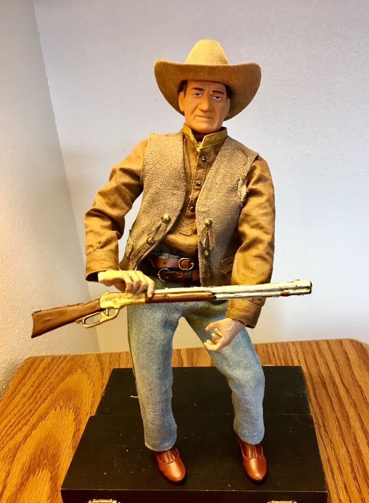 3a41009aac6 John Wayne - 1 6 Scale - Cowboy - Custom Action Figure - Western - Hot Toys   HotToys