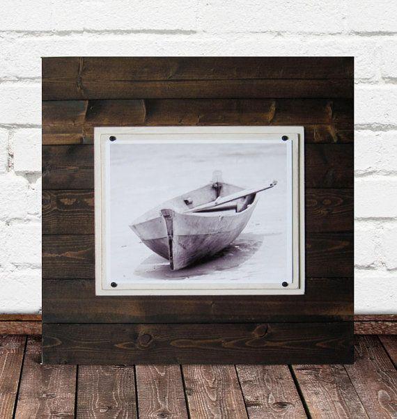 11x14 Big Dark Wood Plank Frame 2X2 | Yummy DIY | Pinterest | Wood ...