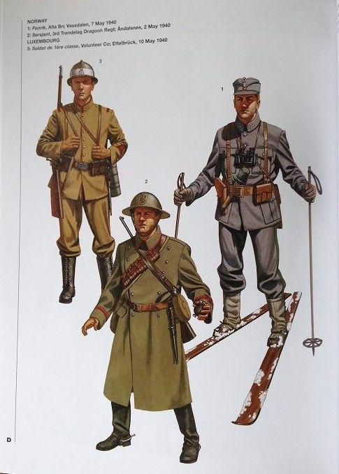 29bb6385acc french foreign legion ww2 - Google Search Norwegian Army