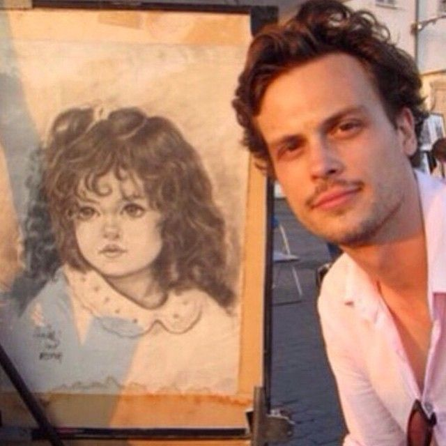 Pin for Later: Matthew Gray Gubler's Cutest Instagram Pictures, Because Why Not?