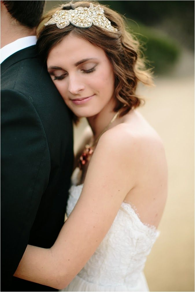 beaded bridal headpiece Le Magnifique Blog: Romantic Rustic Wedding Ideas