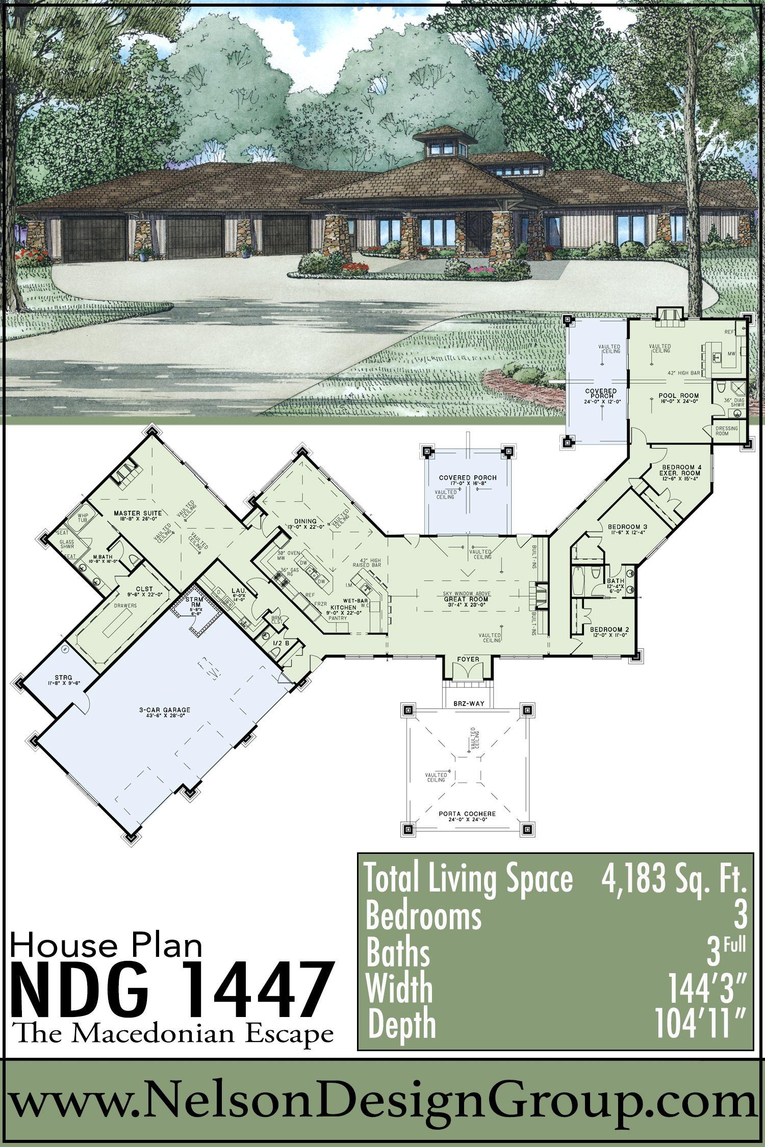 House Houses Home Homes Houseplans Houseplan Homeplans Homeplan Dreamhome Nextho House Plans Mediterranean House Plan Modern Contemporary House Plans