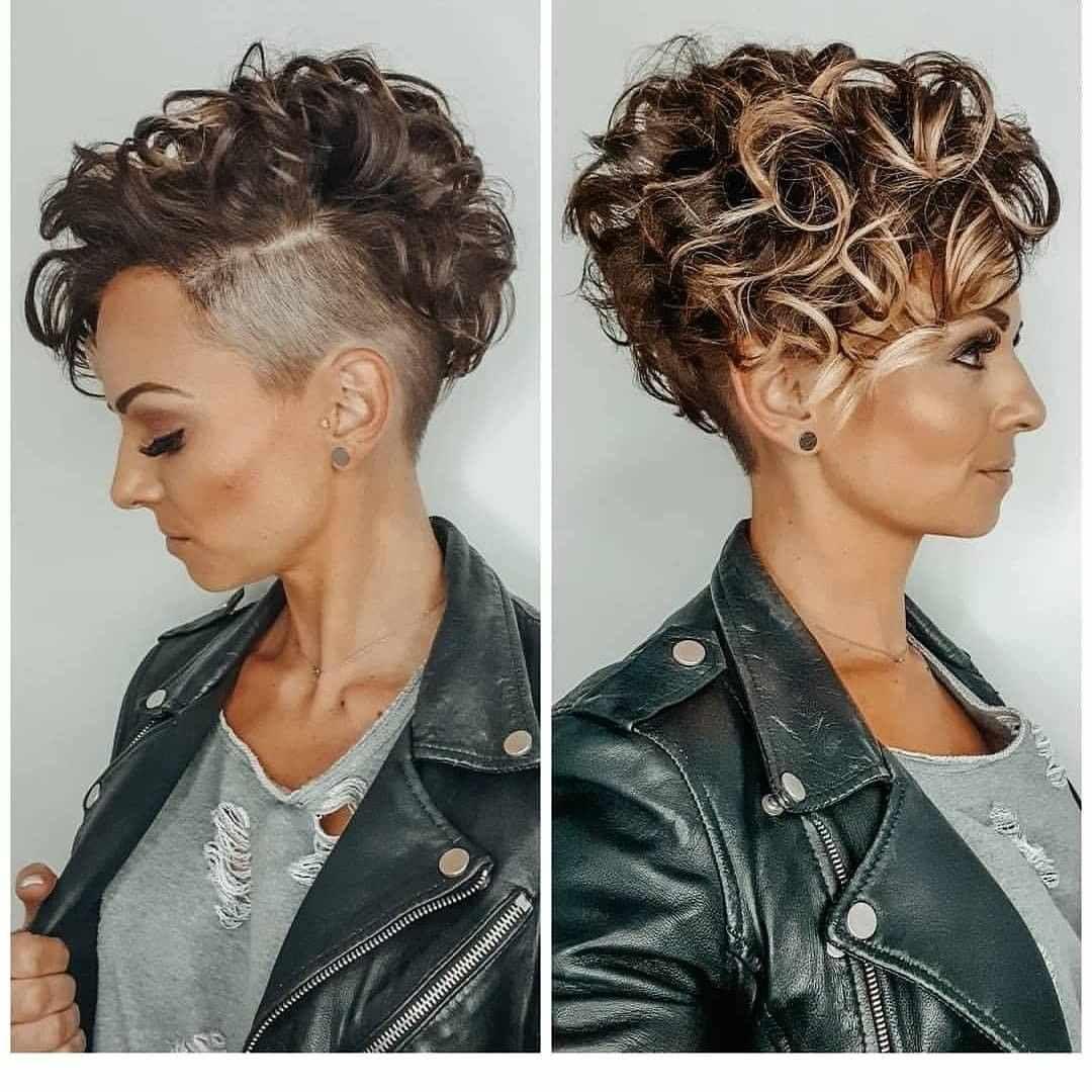 Trendige sehr kurze Haarschnitte für Frauen 12 Trends #Frauen