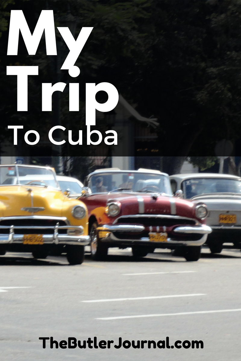 In December, I had the chance to use my passport for the second time in four months. I visited Cuba.