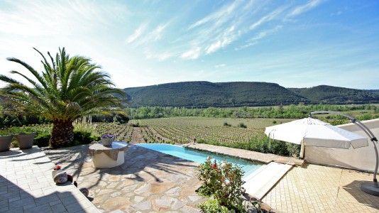Villa met wijngaard te koop Herault, Languedoc, Frankrijk Moulin