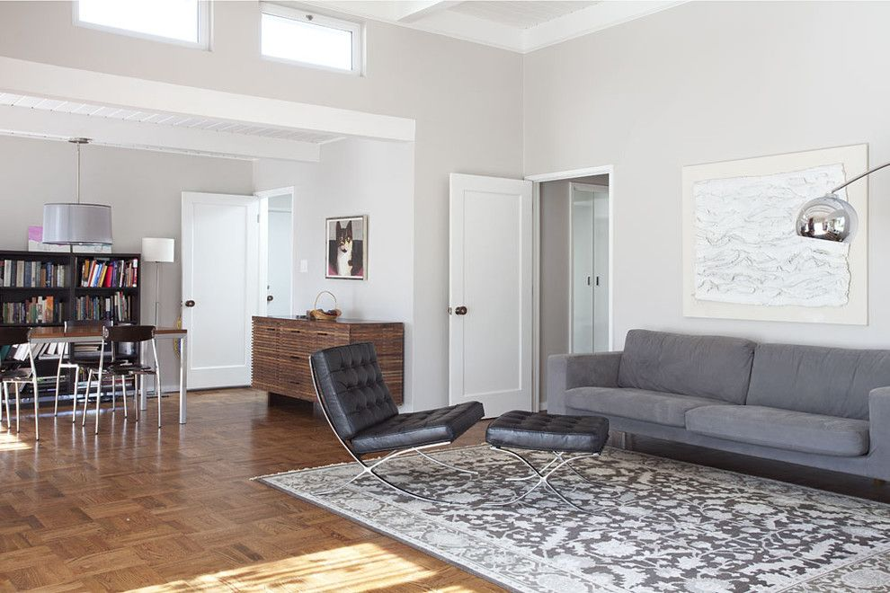 comely modern living room colors. Inspired greige in Living Room Midcentury with Comely  Benjamin