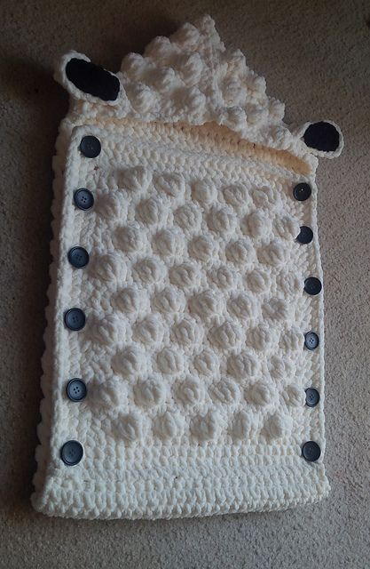 Sheep Baby Sleep Sack pattern by Alicia Cromwell | Pinterest ...