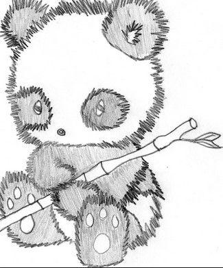 Cute Panda Cool Art DrawingsEasy