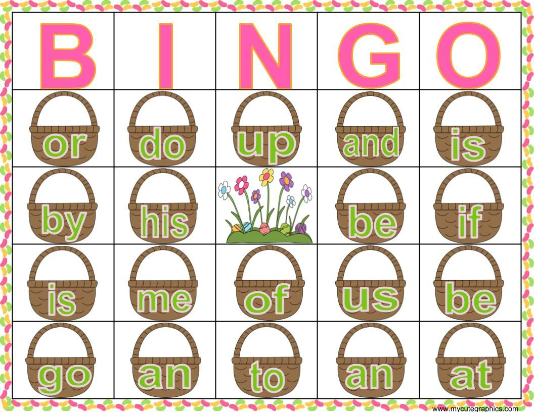Easter Activity To Reinforce Sight Words Use Jelly Beans