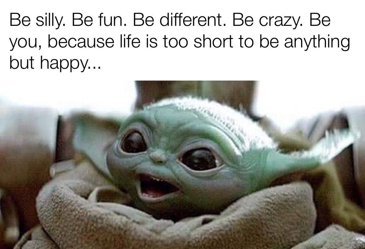 Pin By Paula Godwin On Baby Yoda Yoda Funny Yoda Meme Star Wars Humor
