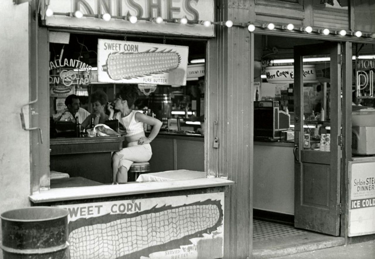 Coney island diner photo by james jowers 1966