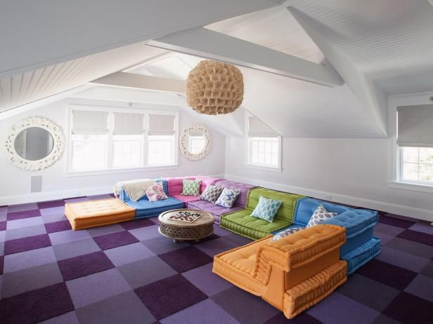 Media Room Furniture Accessories Pictures Options Tips Ideas Attic Living Rooms Attic Rooms Attic Renovation