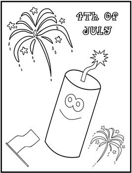 4th of july coloring page freebie  dessin coloriage coloriage dessin