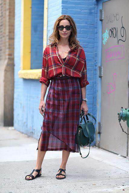 Tendinte Primavara 2014: New York Street Style