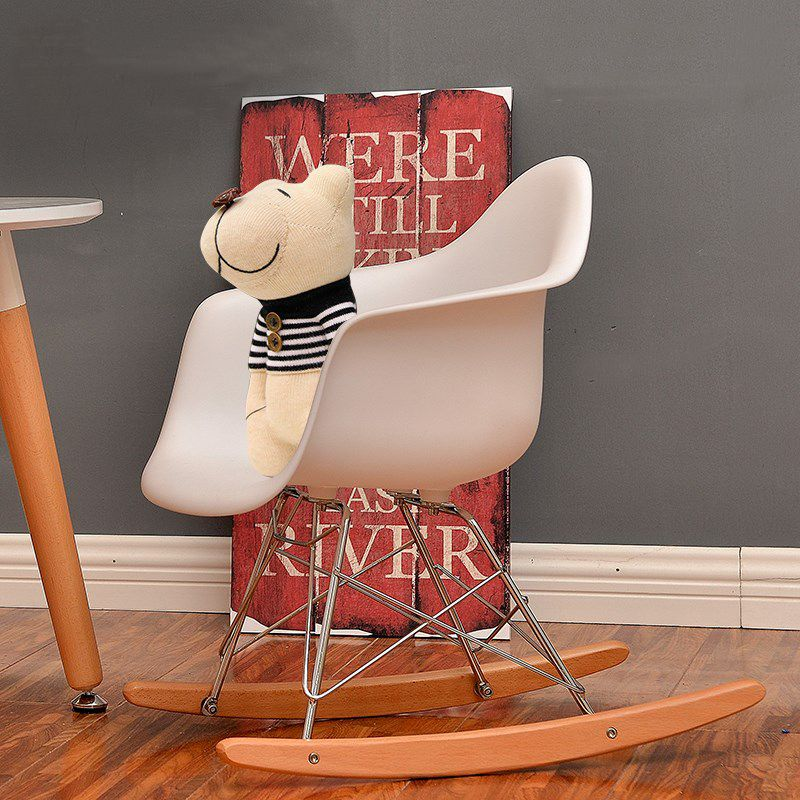 replik charles kinder schaukelstuhl baby rocker freizeit wohnzimmer mbel kunststoff mode stuhl - Stuhl Replik