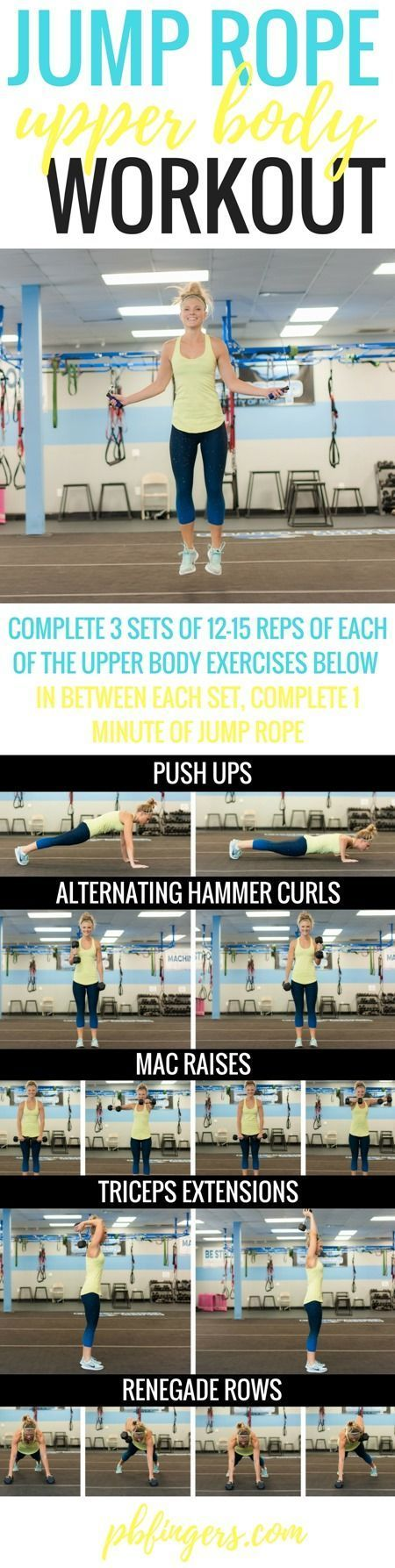 **  JUMP ROPE Higher Physique WORKOUT...