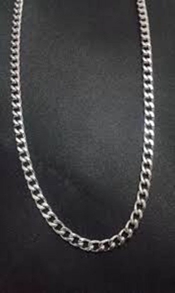 25177231c4c Corrente prata 925 modelo groumet espelhada. Comprimento  60 cm. Largura   6